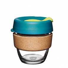 Puodelis KeepCup Cork Turbine stiklinis, 227ml