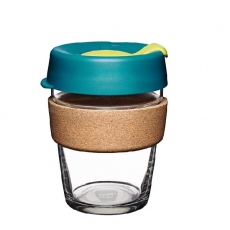 Puodelis KeepCup Cork Turbine stiklinis, 340ml