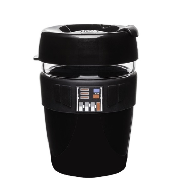 Puodelis KeepCup Darth Vader stiklinis, 340ml