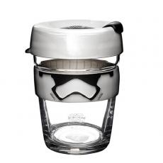 Puodelis KeepCup Stormtrooper stiklinis, 340 ml