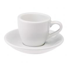 Puodelis su lėkštute Loveramics White Espresso, 80 ml
