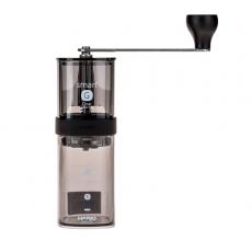 Rankinis kavos malūnėlis Hario Smart G, permatomas juodas