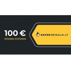 Spausdintas dovanų kuponas, €100