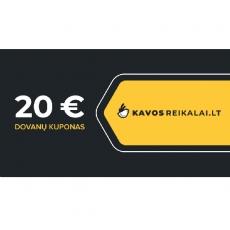 Spausdintas dovanų kuponas, €20