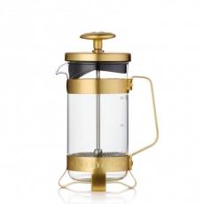 Stiklinis kavinukas Barista & Co auksinis, 300ml