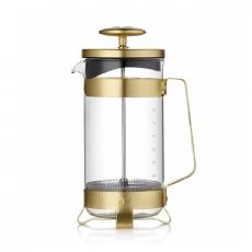 Stiklinis kavinukas Barista & Co auksinis, 800ml