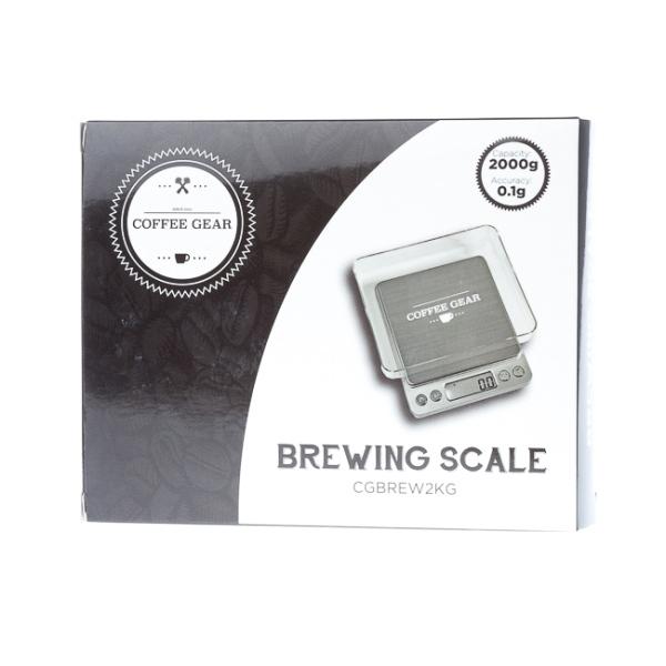 Svarstyklės Coffee Gear - Brewing Scale, 2000g