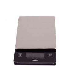 Svarstyklės su laikmačiu Hario Metal Drip Scale, 2000g