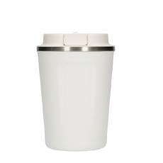 Termo puodelis Asobu Compact, baltas 380ml