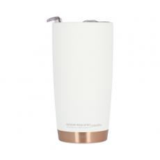 Termo puodelis Asobu Gladiator, baltas 600ml