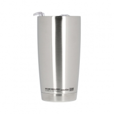Termo puodelis Asobu Gladiator, sidabrinis 600ml