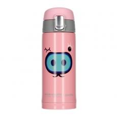 Termo puodelis Asobu Peek-A-Boo rožinis, 200ml