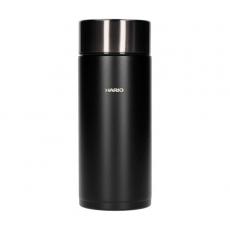 Termo puodelis Hario Flask, juodas 350ml