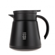 Termosinis indas kavai Hario V60-03, juodas 800ml