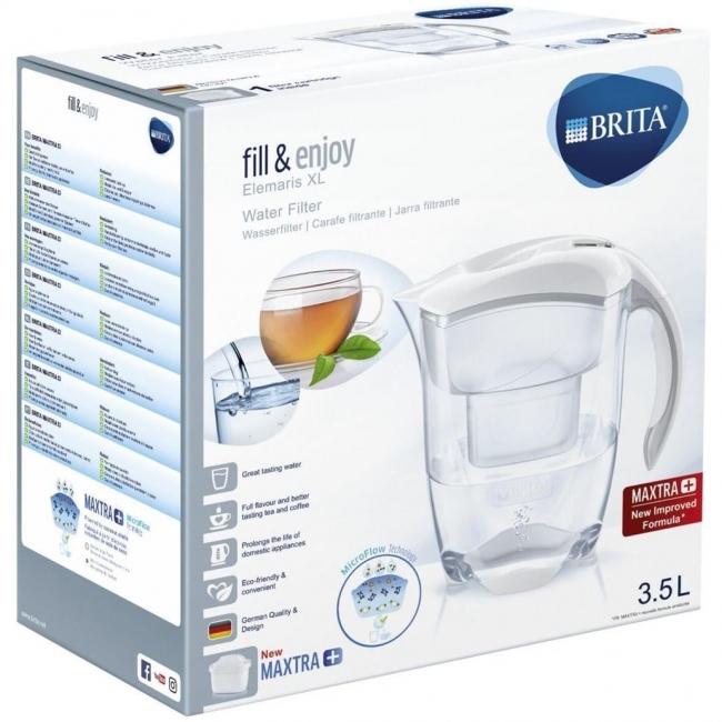 Vandens filtras BRITA Elemaris Maxtra+ XL, Baltas