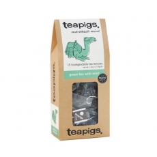 Žalioji arbata Teapigs su mėtomis, 15 vnt.